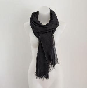 NORDSTROM Modal Silk Blend Scarf, Black